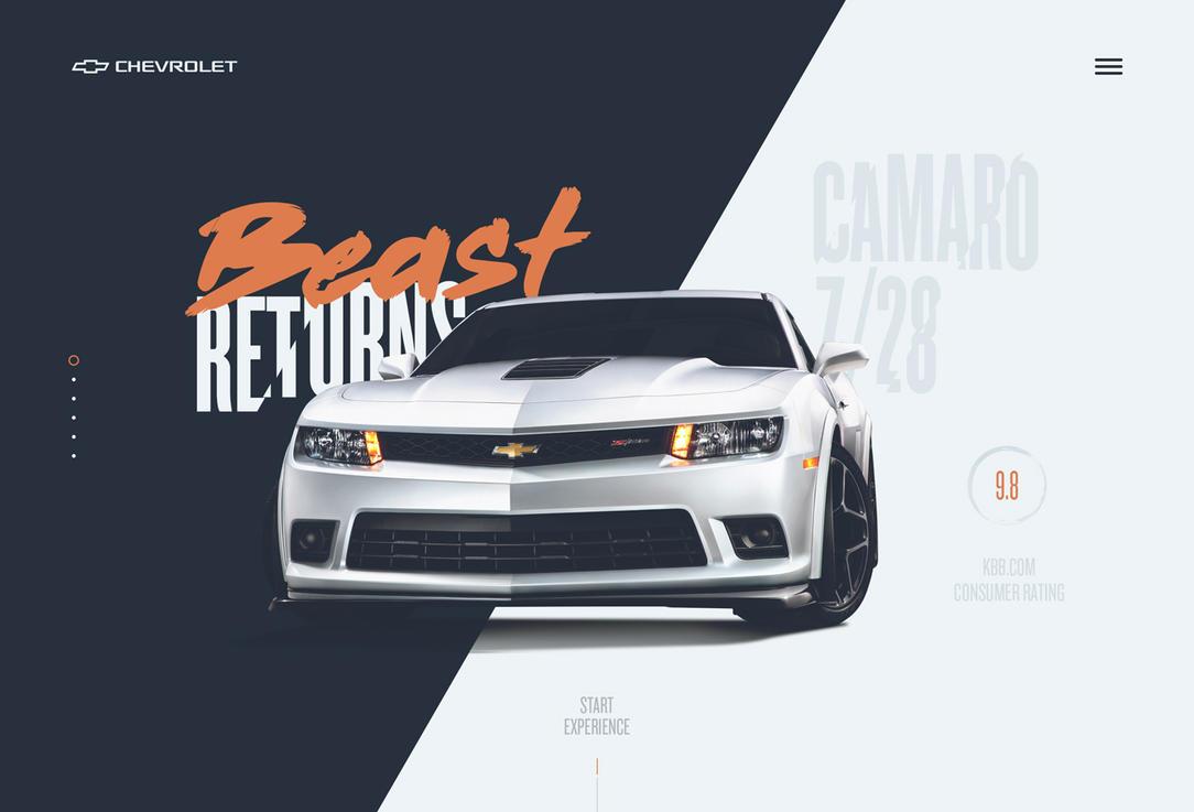 Chevrolet Camaro Redesign by Tropfich