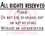 All Rights Reserved - Copyright Stamp