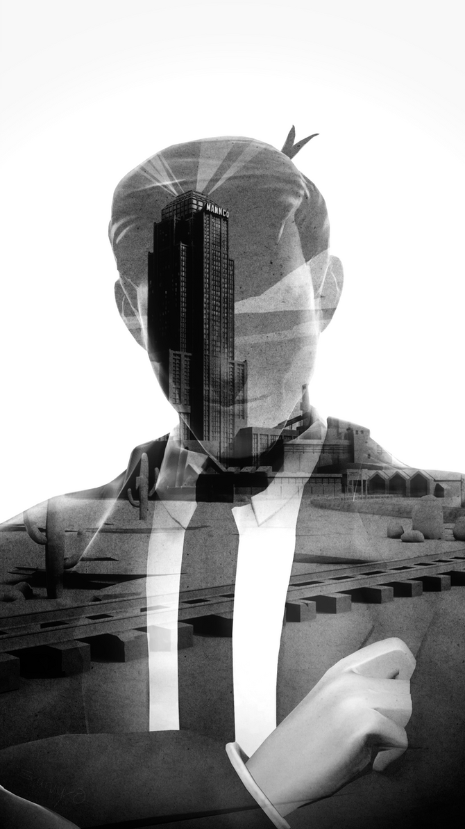 Double Exposure by Moonlight109
