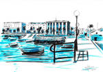 Puerto Real sketch by JLRincon