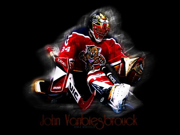 John Vanbiesbrouck by sfggraphics