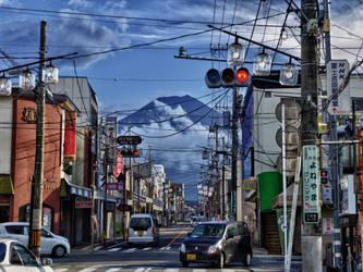 Fujiyoshida Street by Red-Waltz