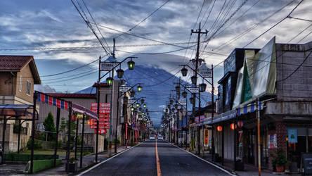 Fujiyoshida Street #2 by Red-Waltz