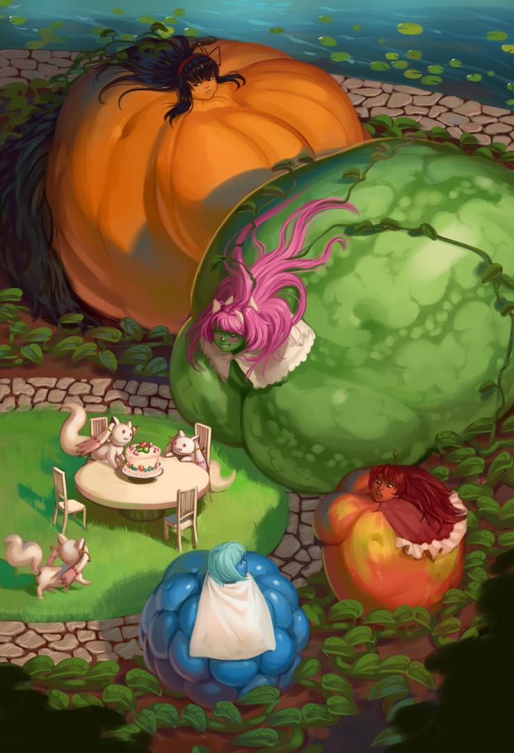 Kyuubey's Garden: Melon by 0pik-0ort