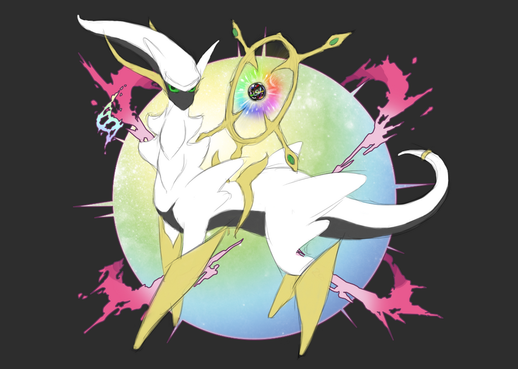 Mega Arceus by ja123ri on DeviantArt