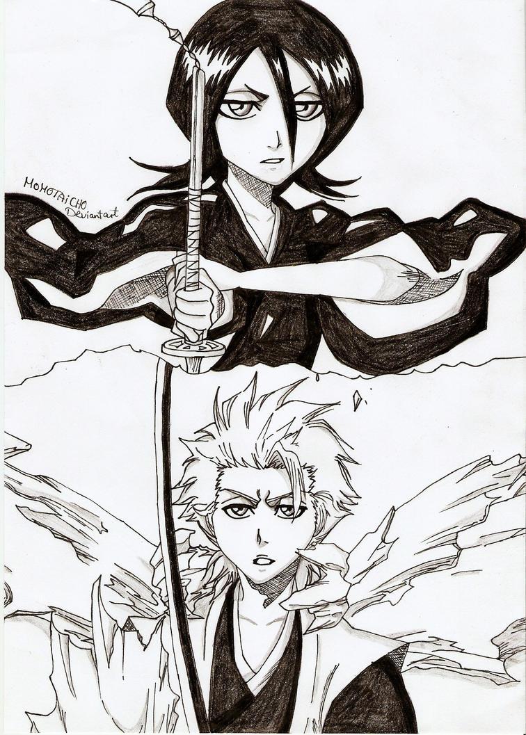 The Two Iceshinigamis by DevilishMirajane