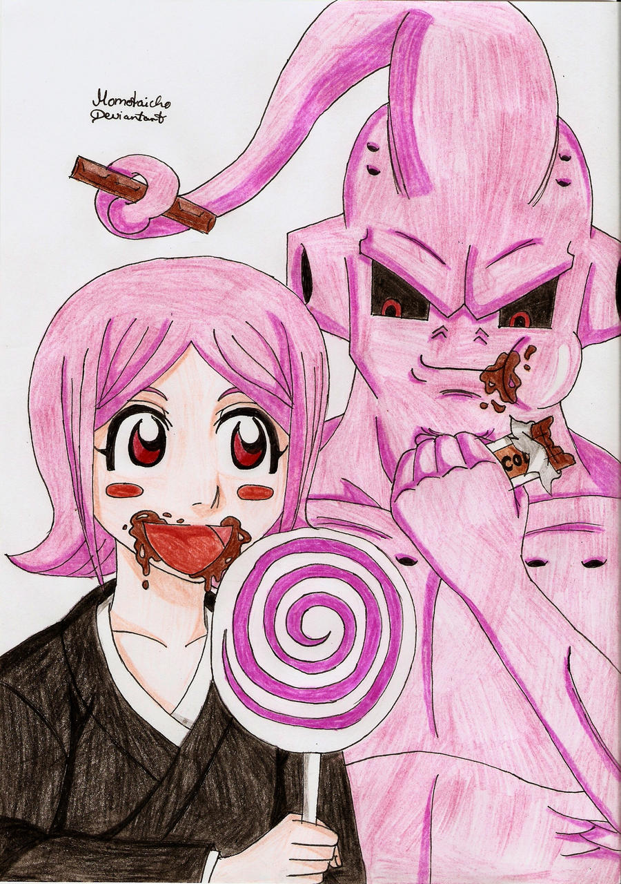 Yachiru and Boo by DevilishMirajane
