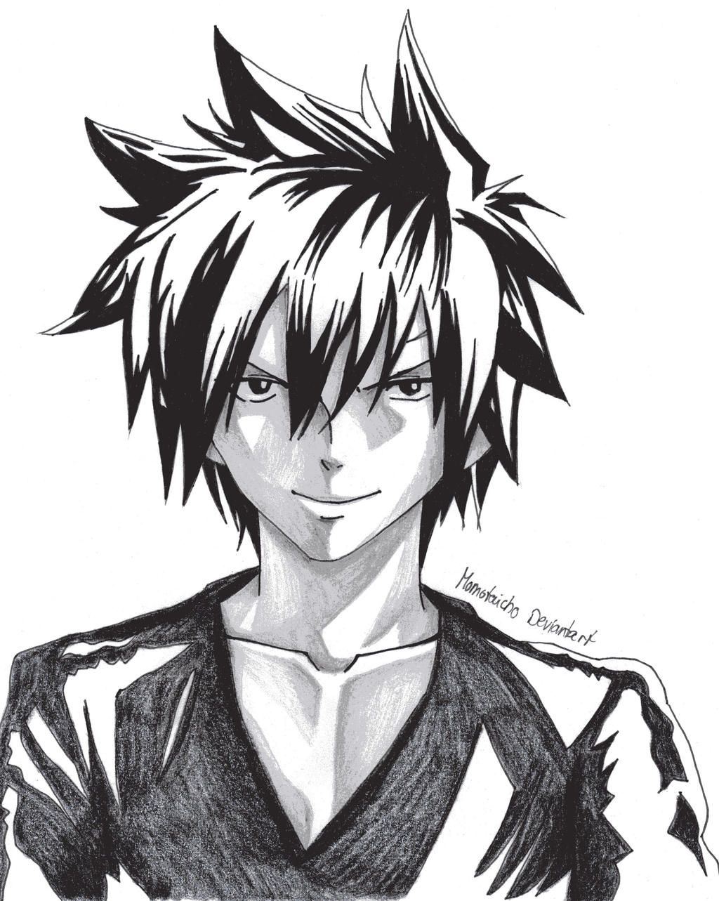 Portrait Gray Fullbuster by DevilishMirajane
