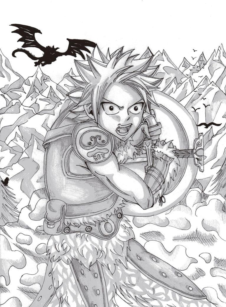 Skyrim North Natsu by DevilishMirajane