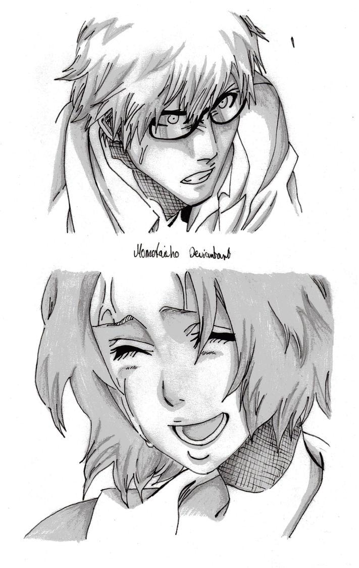Ryuken and Masaki by DevilishMirajane