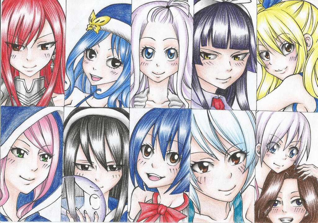 Favourite FT Girls by DevilishMirajane