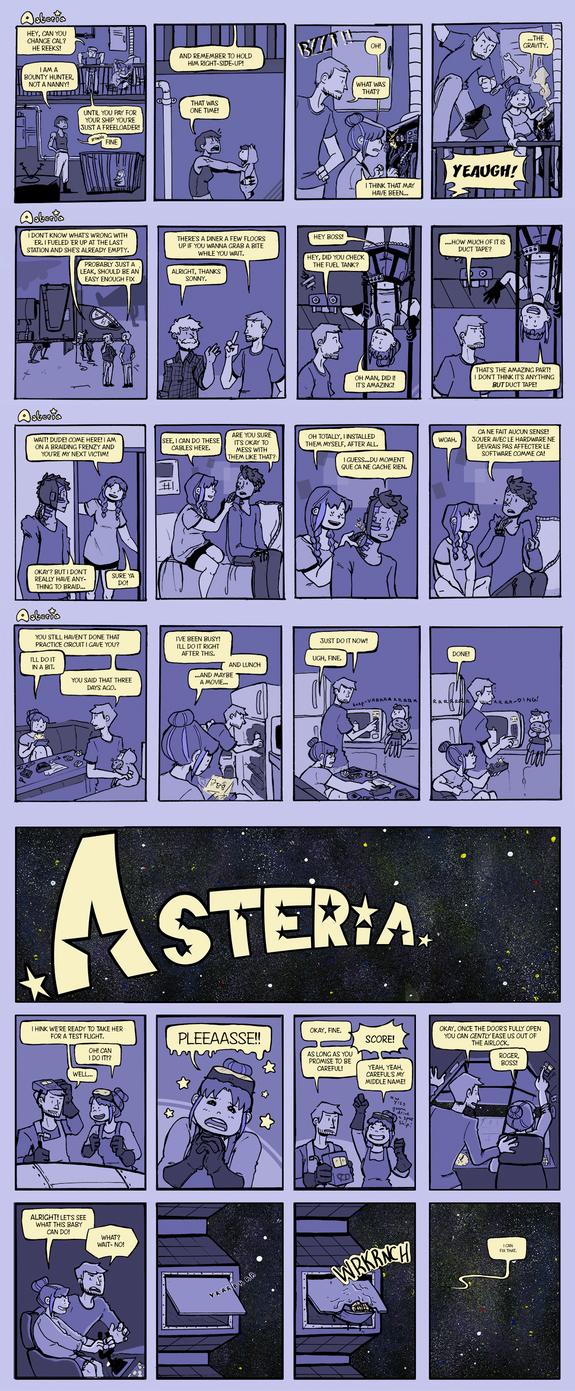 Asteria - All by weeaboo-sensei
