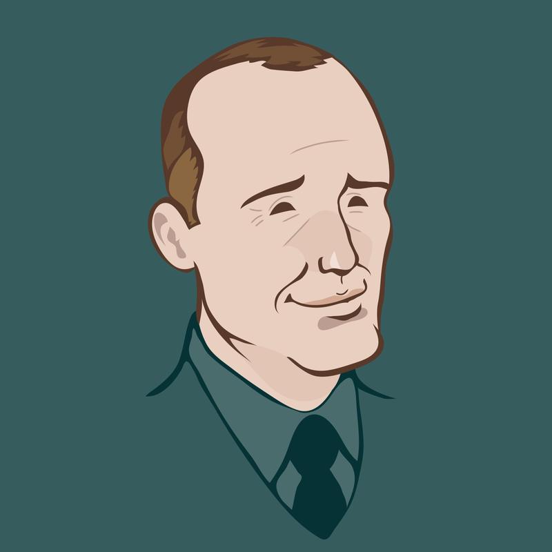Clark Gregg by luisilustra