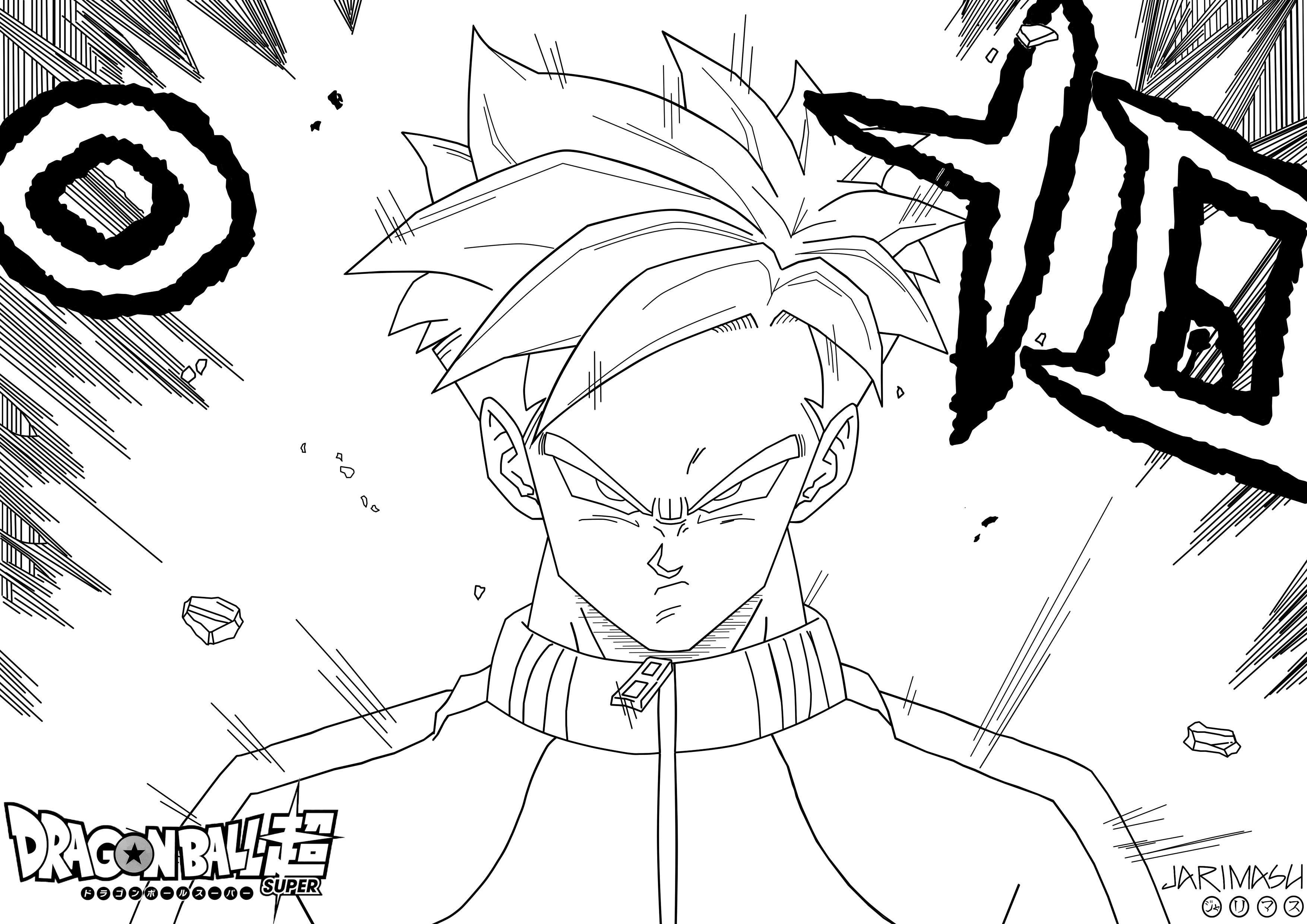 Único Dibujos Para Colorear De Dragon Ball Z De Gohan | Colore Ar La ...
