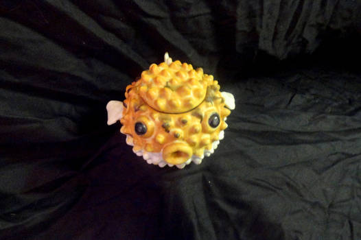 Puffer Fish Tea Pot
