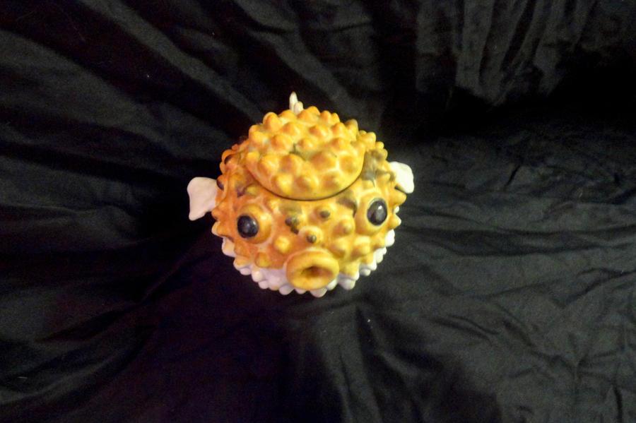 Puffer fish tea pot by mercurydemosthenes on deviantart for Puffer fish sand art