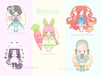 [OPEN 3/5] REVERIE DOLLS: Random Collections by QueenofReveries