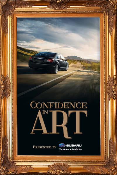 Confidence in Art by Subaru-Canada