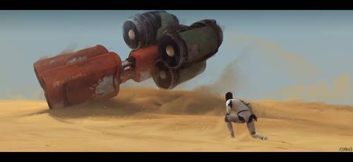 The Force Awakens by PabloCarpioArt