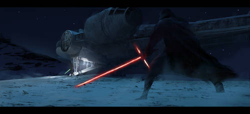 The Force Awakens - 2 by PabloCarpioArt