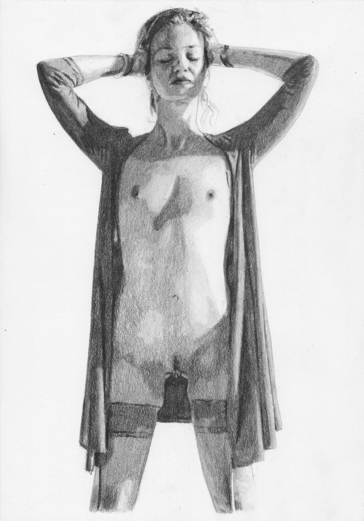 Female Nude Akt Girl - By Umciaumcia by BeataBlue