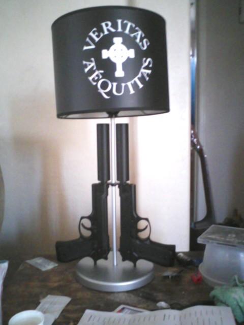 The Boondock Saints Lamp. by FalloutDiscord on DeviantArt