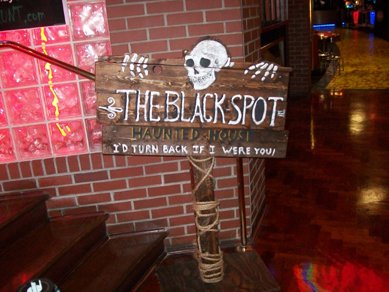 Black Spot signage by TheJugglingOctopus