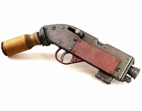 Guard's pistol by TheJugglingOctopus