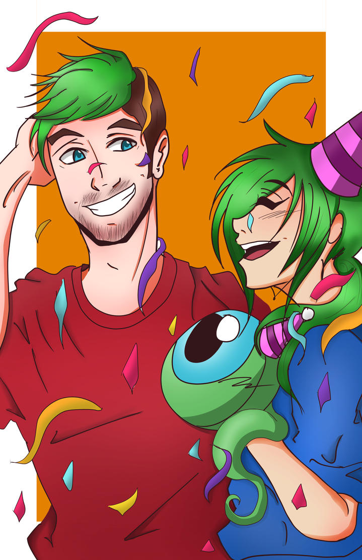 Congrats for 10 Million Subscribers Jacksepticeye by Catgirlemi7