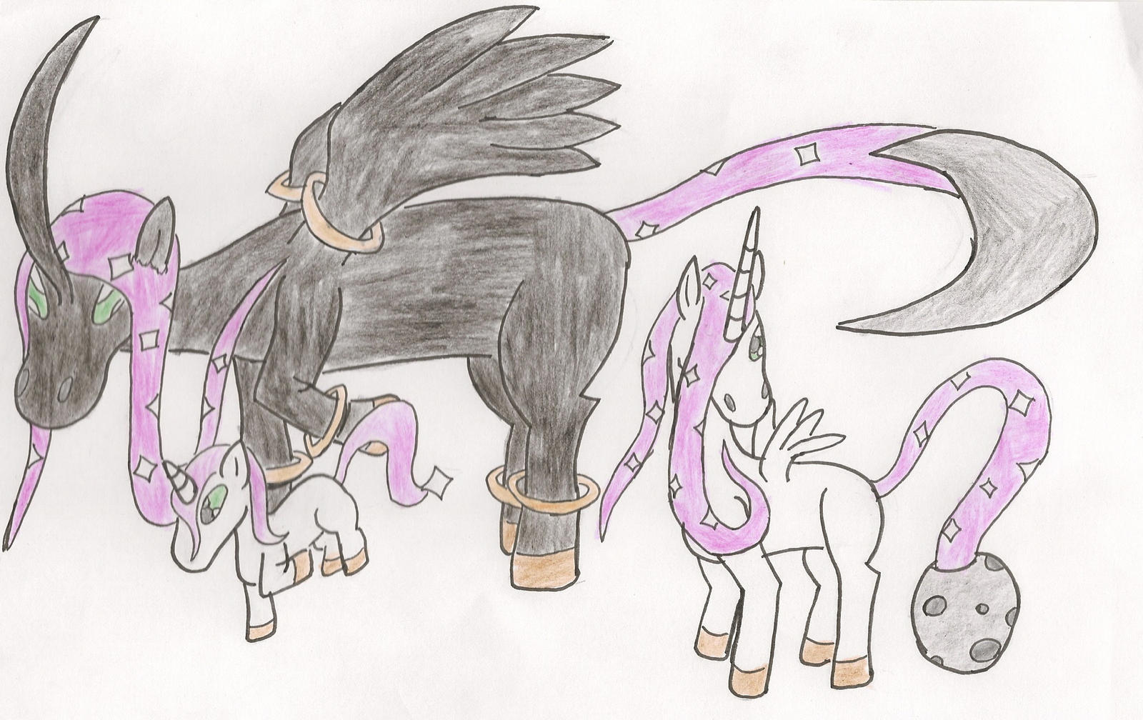 The Unicorn Pokemon by KingDiscord