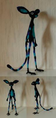 Blue creature