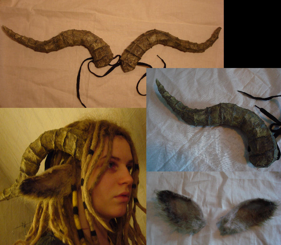 Faun ears and horns by Ulltotten