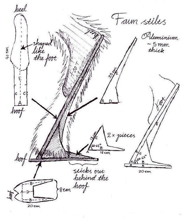Faun stilt blueprint by Ulltotten