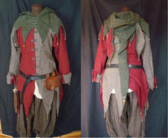 Medieval jester outfit