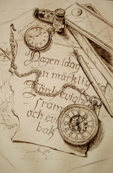 Sketch, pocket watch
