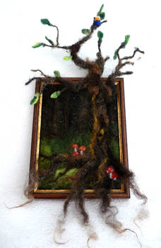 Felted tree 2.0