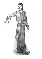 Tsamaryd - aranischer Hexer