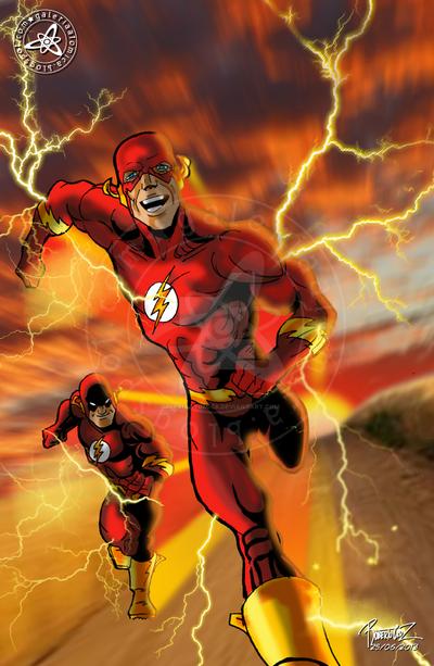 Flash: El regreso de Barry Allen by galeriaatomica