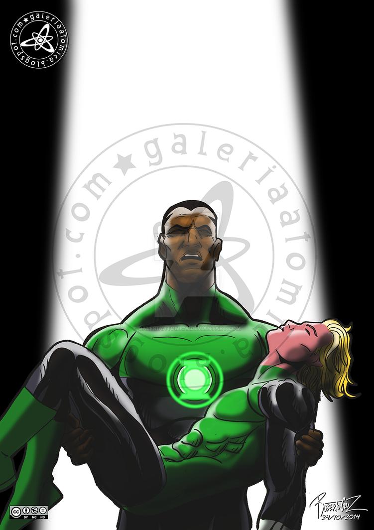 Green Lantern: el primer caido by galeriaatomica