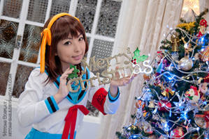 Merry X'mas! by Hitomi-Cosplay