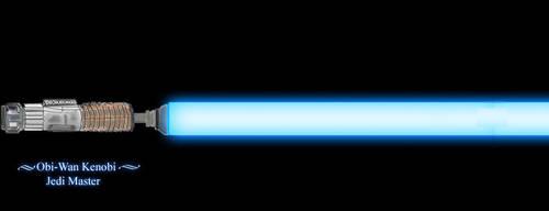 Obi-Wan Kenobi's Lightsaber by kupo6x