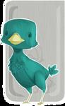 Wooded Wingless Birdie