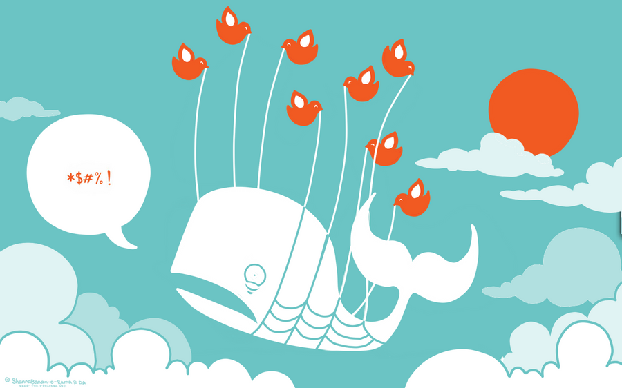 Twitter Fail Whale Wallpaper by ShannaBanan-o-rama