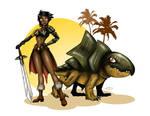 Evony Barbarian Warrior