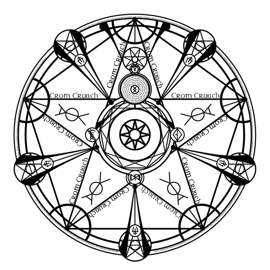 The Summoning Circle Of Crom Cruach (Dark Alchemy) by ...