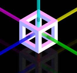 A Cube (Hexels)