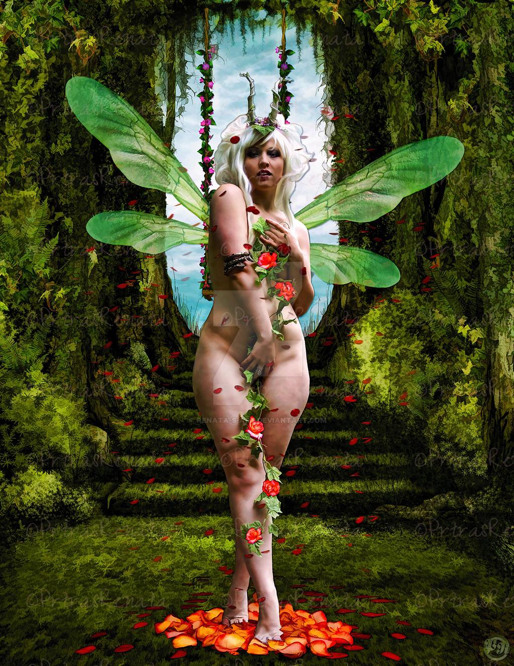 Rose-fairy