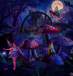 Moonlight fairies