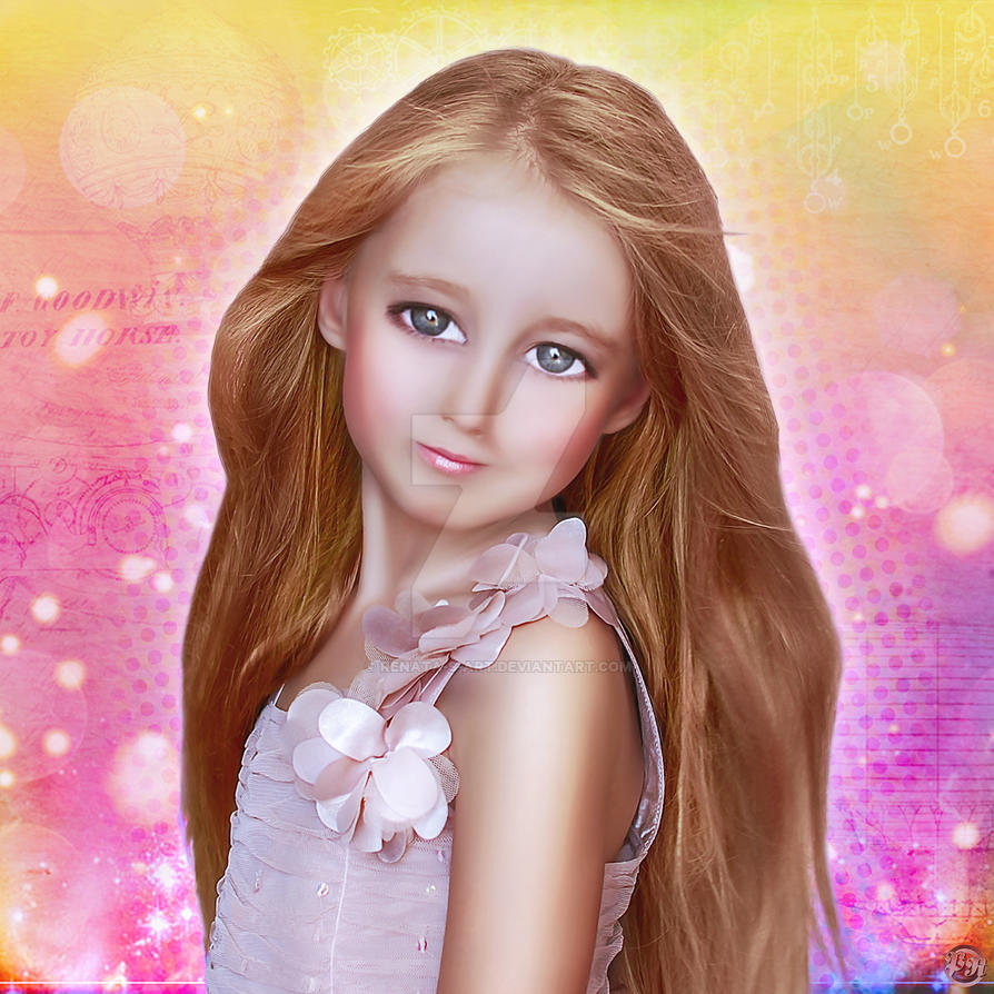 Cute Doll by petrasrenata