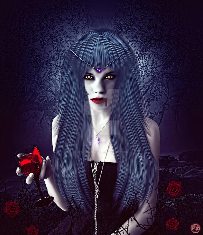 Blood Thirst by Renata-s-art